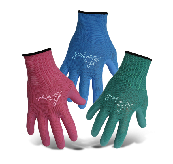 Boss Guardian Angel Nylon Knit Latex Palm gloves