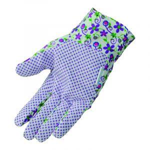Bond Bloom Garden Gloves in purple color