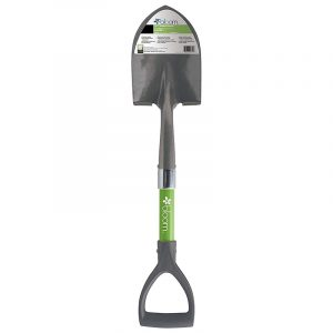 Bond Bloom Mini D Handle Shovel in green color