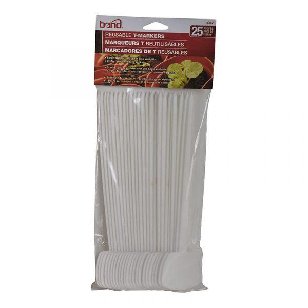 Reusable Garden T-Marker 25pc pack